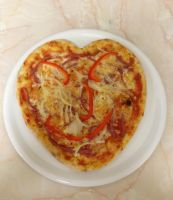 Happy Heart Pizza
